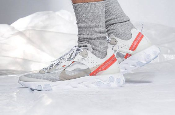 159d3a4d4f6e Are You Copping The Stylish Nike React Element 87 Sail This Week  The Nike  React