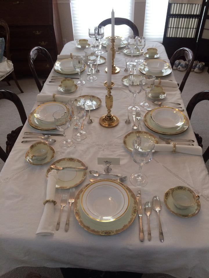 Formal Table Setting Formal Table Setting Table Settings