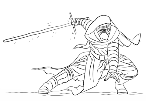Kylo Ren Coloring Page Free Printable Coloring Pages Pokemon Coloring Pages Coloring Pages Inspirational Cartoon Coloring Pages