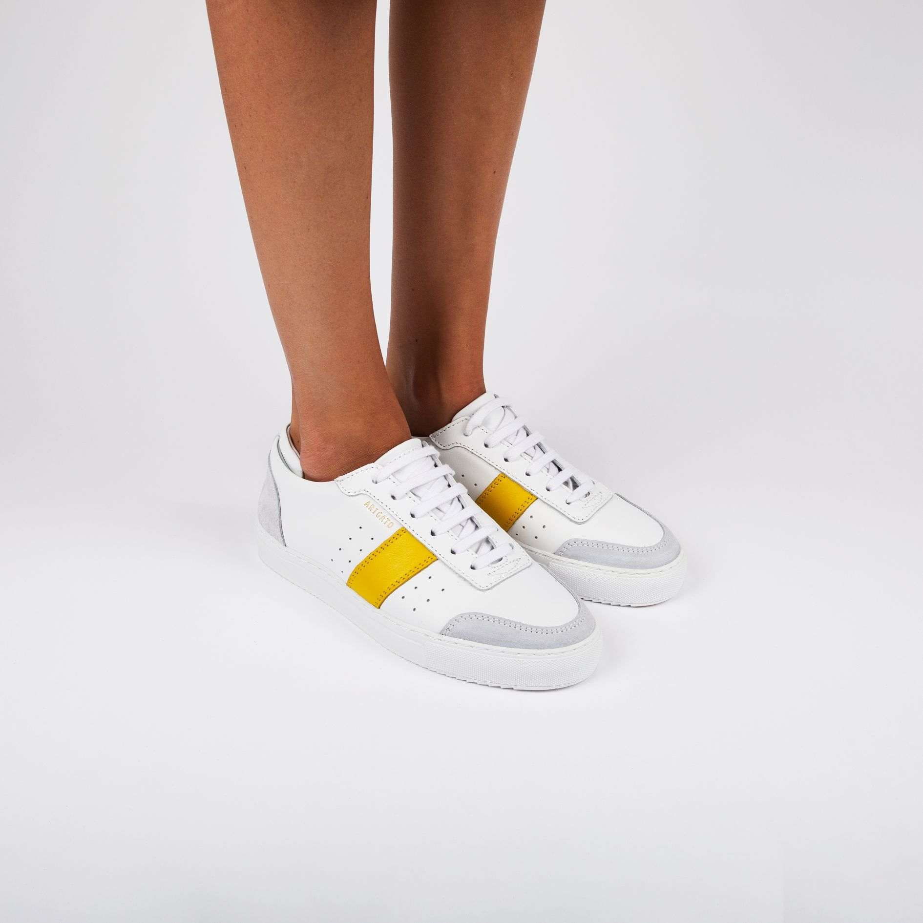Dunk Sneaker White Leather | Sneakers