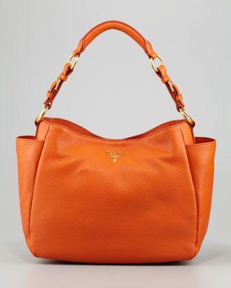 ee6e1c54f269 Daino Double-Pocket Hobo Bag by Prada at Bergdorf Goodman. I really DO need  this bag, PLEASE!