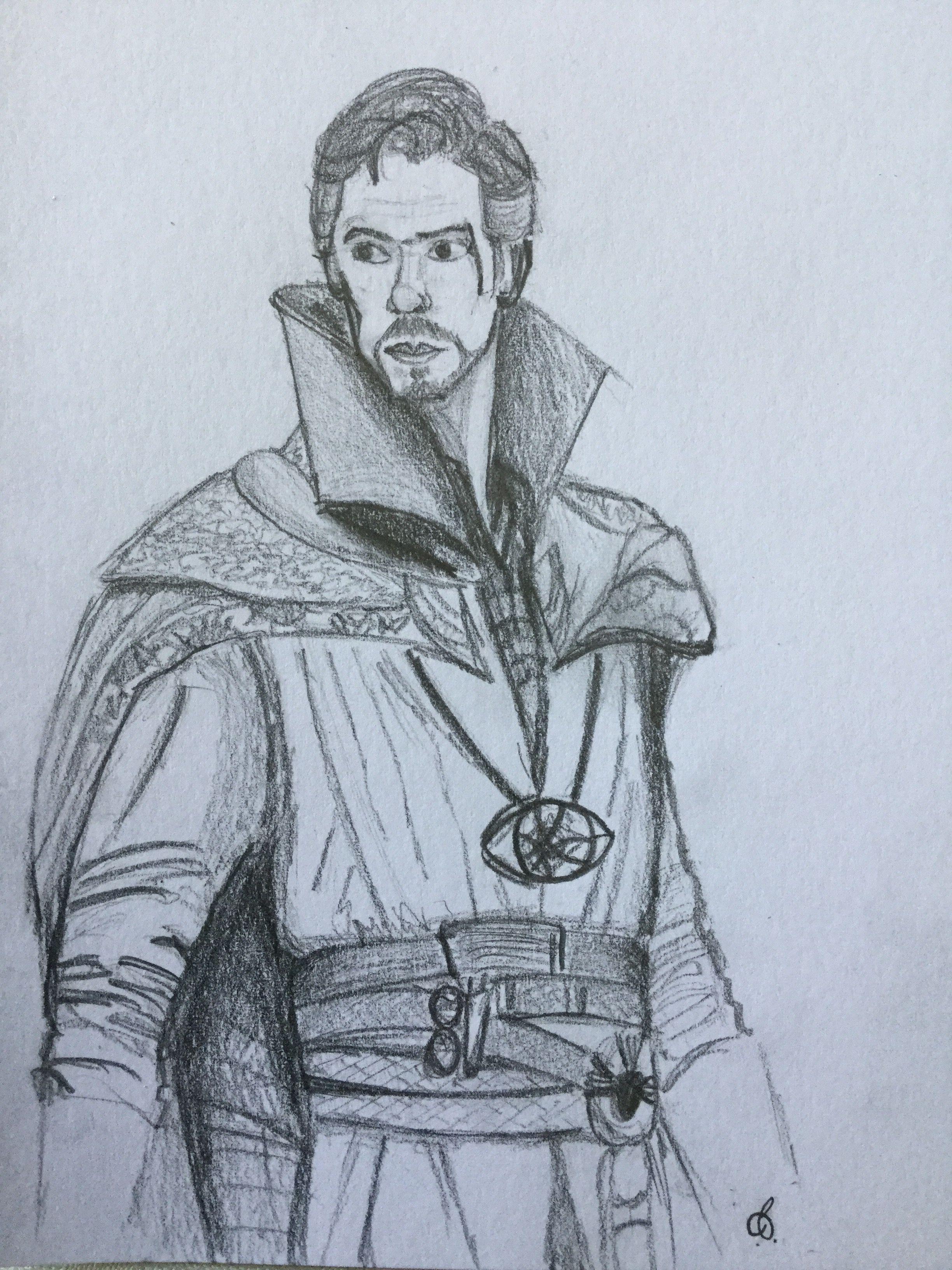 Strange pencil drawings pencil sketch