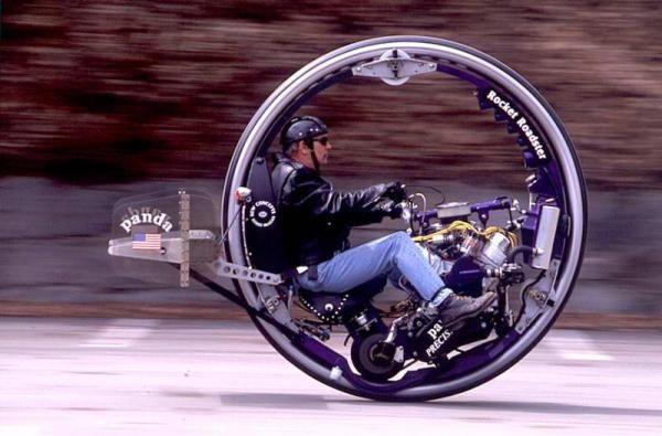Single Wheel Motorcycle One Wheel Motorcycle Mini Bike