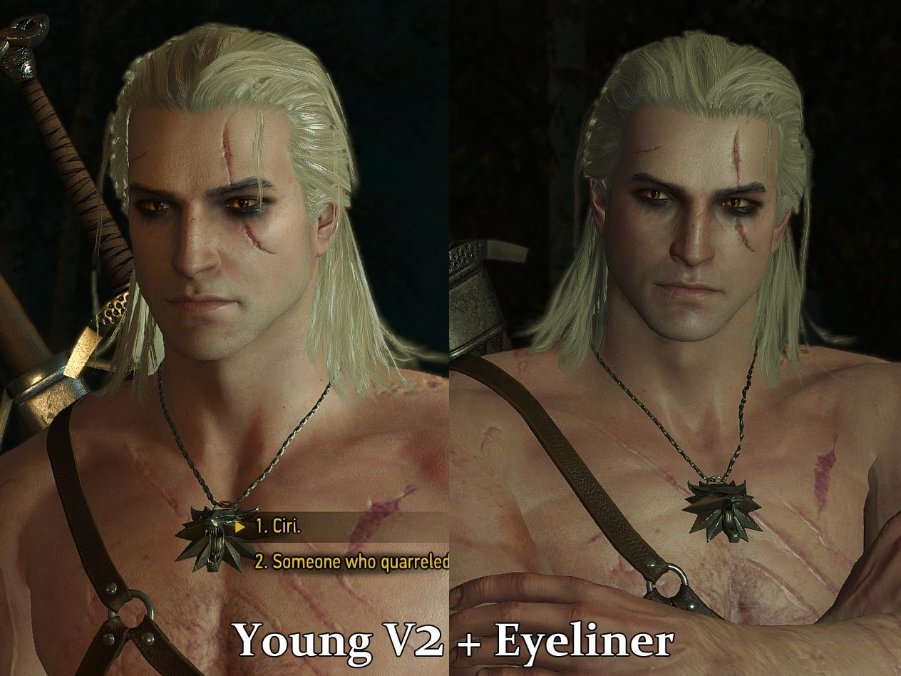 Young Geralt at The Witcher 3 Nexus Mods and munity