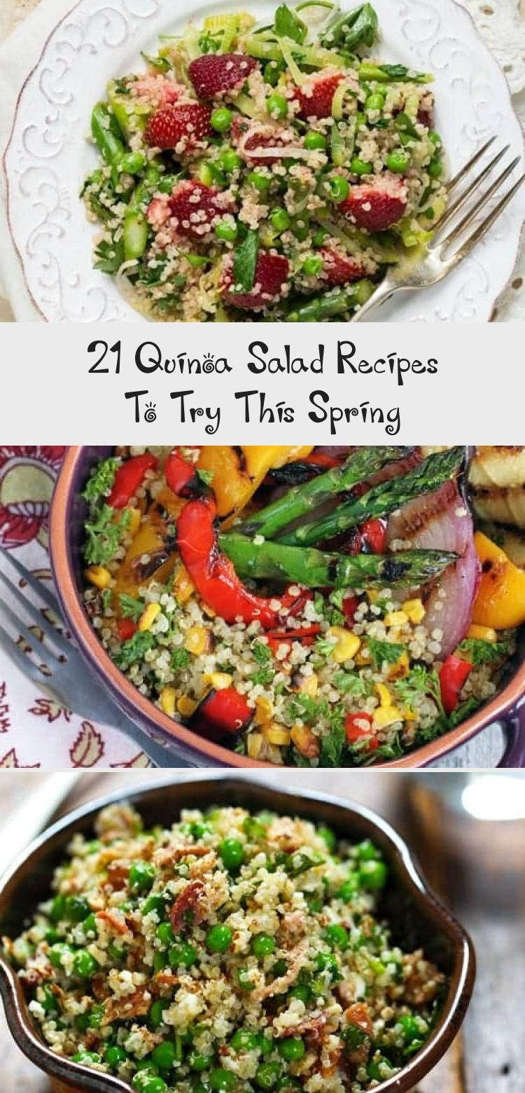 21 Quinoa Salad Recipes To Try This Spring Dinner Recipes