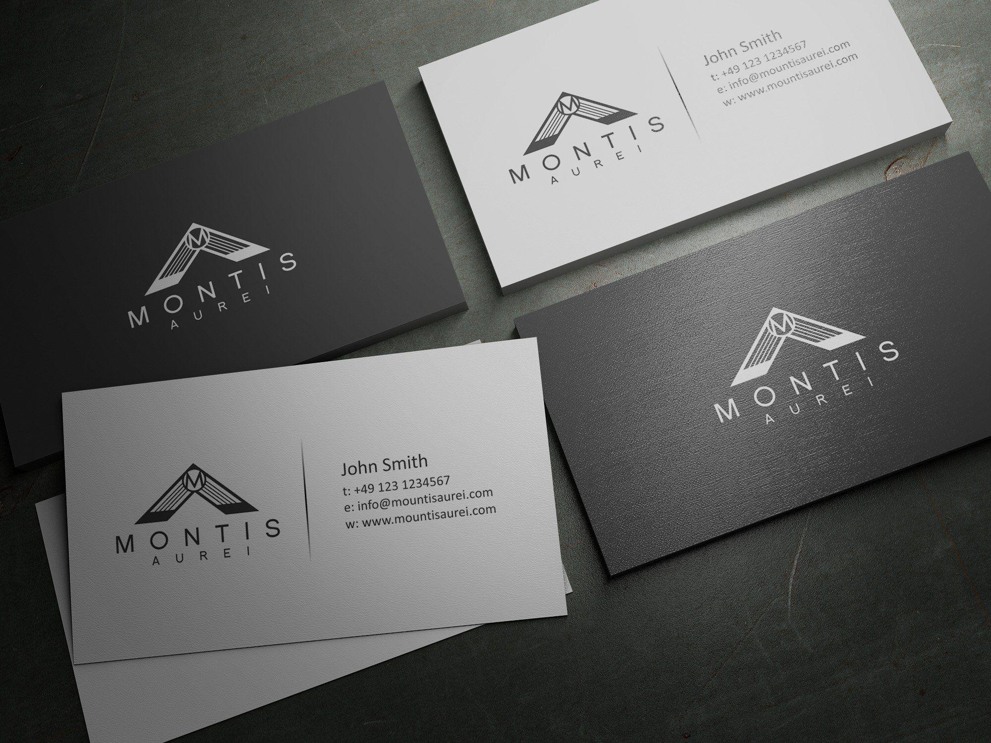 Business Card Design from Montis Aurei contest | BIZ CARD DESIGN ...