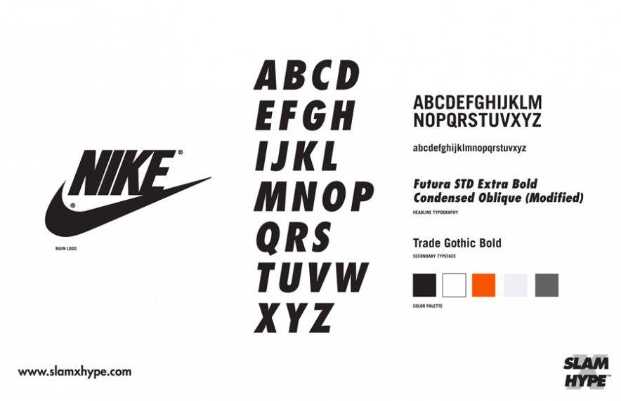 Nike Types Libres De Polices