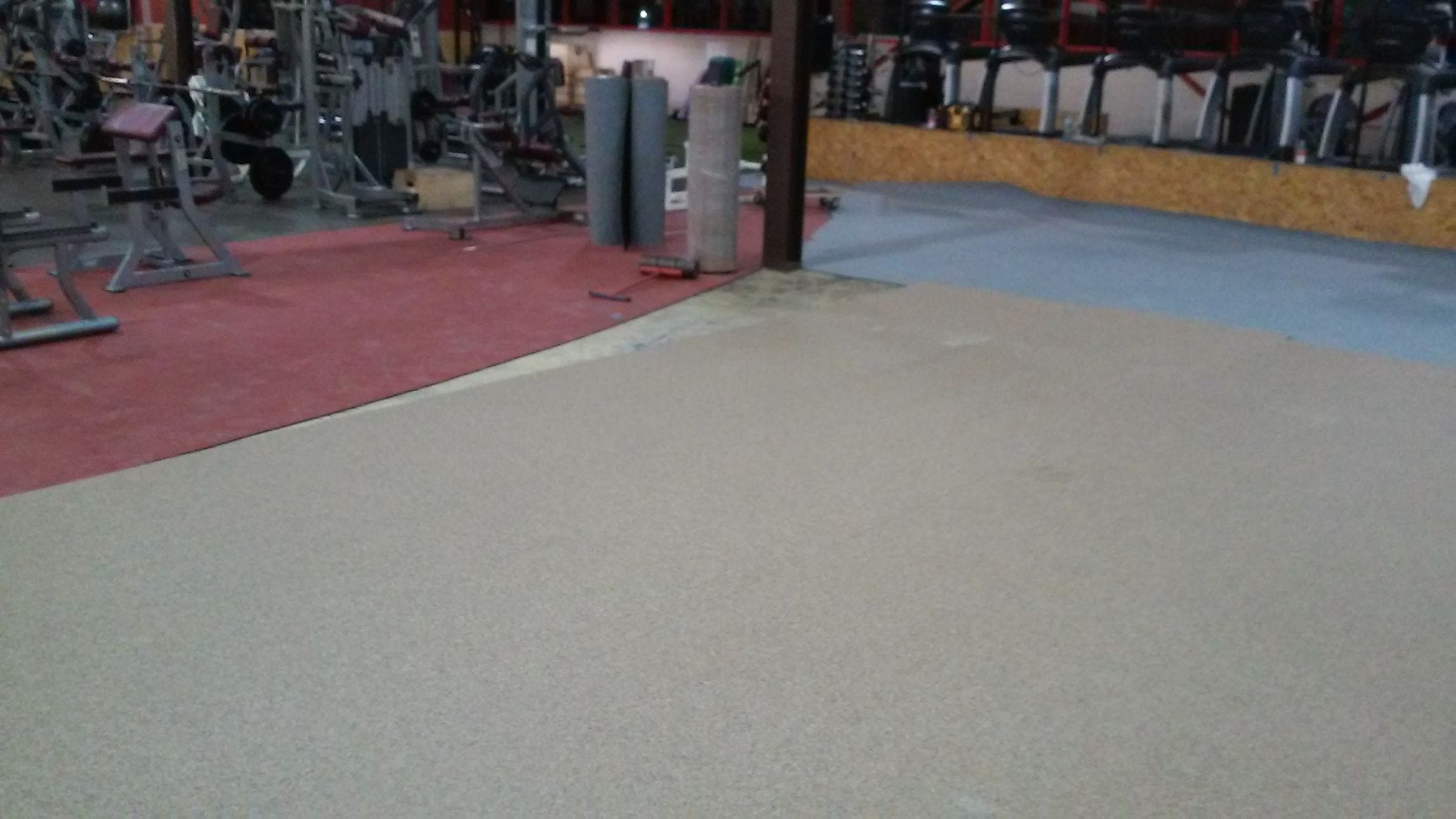 Edge Milford getting layed out w Ecore Performance Series Red, Tan, and Gray.
