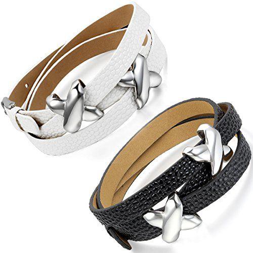Flongo 2pc Bracelet Cuir Corde Acier Inoxydable Lien Poig... https://www.amazon.fr/dp/B01BD9QKLE/ref=cm_sw_r_pi_dp_-e8zxbQF0DJM5