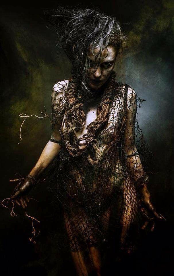 Dark Beauty Fantasy Art