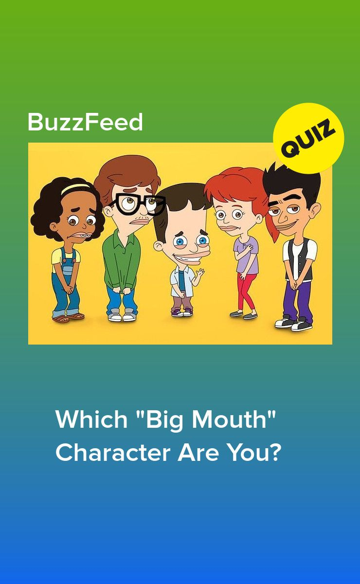 Which Big Mouth Character Are You With Images Big Mouth