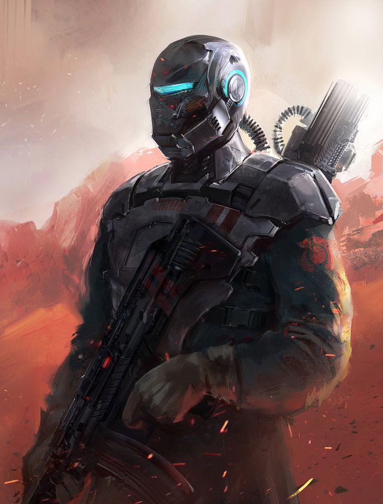 Sci Fi Soldier By Oana D Sci Fi Wallpaper Sci Fi Sci Fi Concept Art