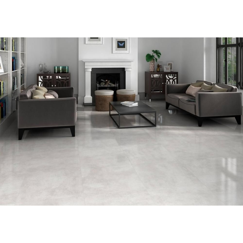 Kalos Gris Porcelain Tile 24 X 100411784 Floor And Decor