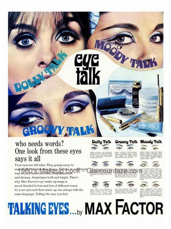 Max Factor 60s With Images 1960s Makeup Vintage Makeup Ads