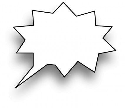 Speech Bubble Vector Clip Art Free Vector For Free Download Free Clip Art Speech Bubble Clip Art