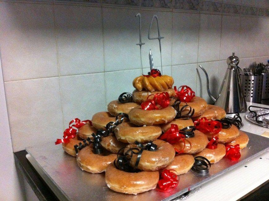 25 creative picture of krispy kreme birthday cake