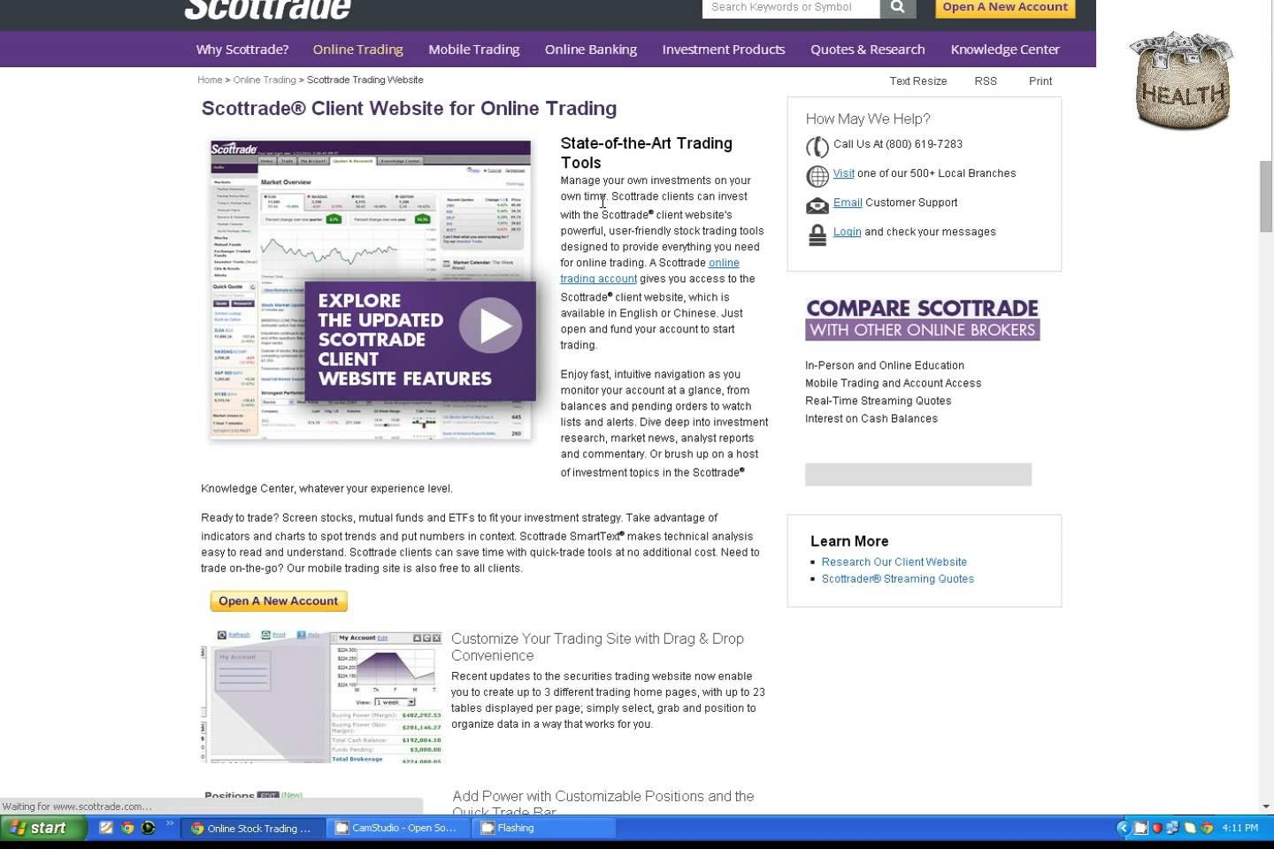 Scottrade Quotes And Research Scottrade Best Online Tradinginvestingmobile Tradingonline