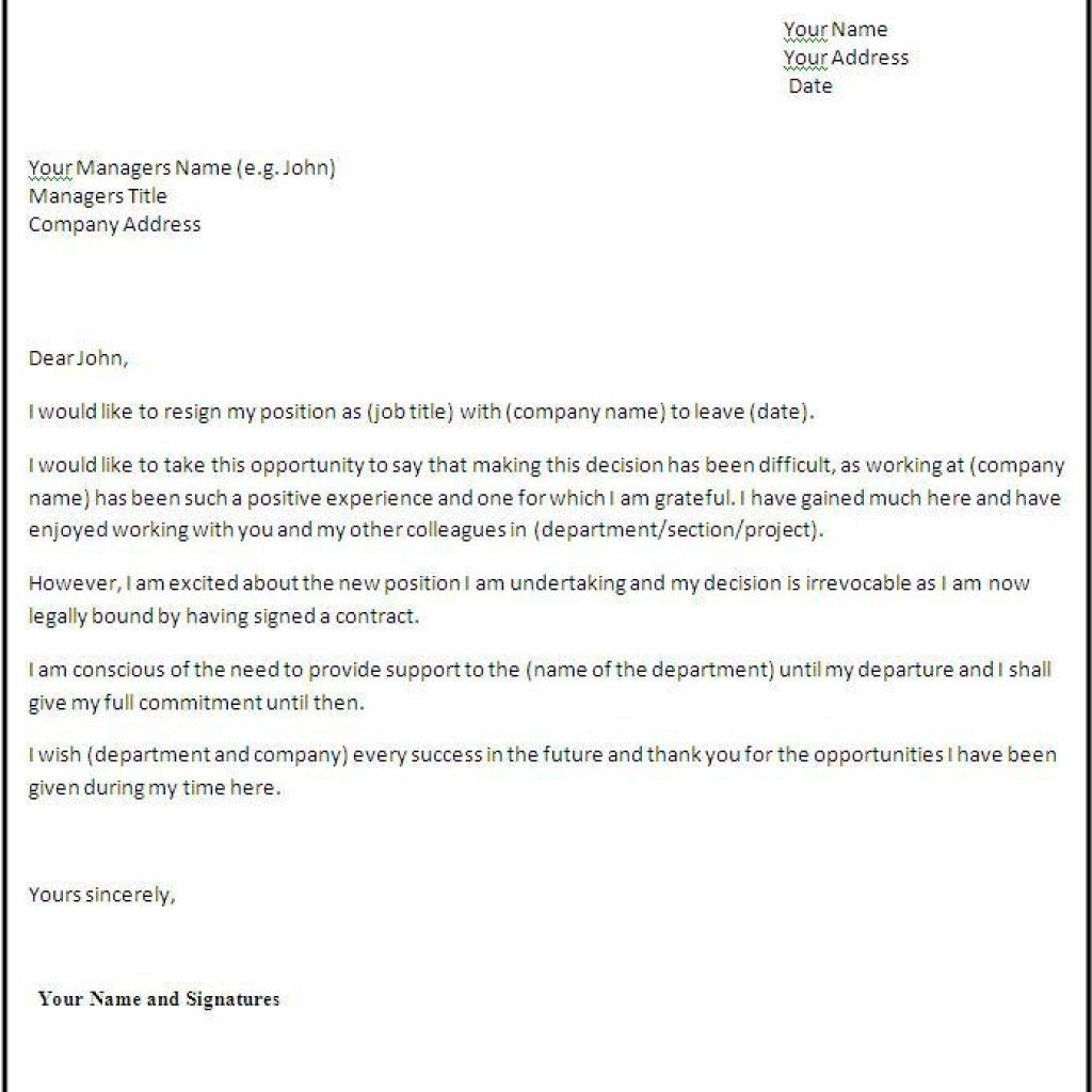 Resignation letter format for personal reason sample intended resignation letter format for personal reason sample intended reasons spiritdancerdesigns Images