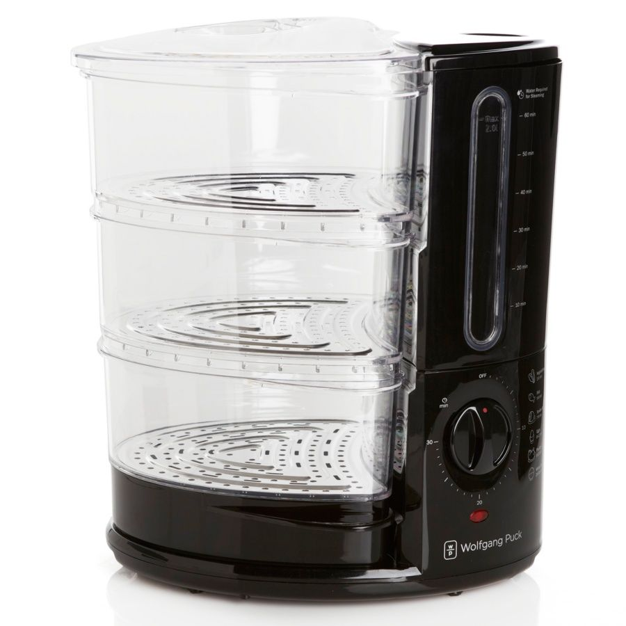 Wolfgang Puck Bistro 1400-Watt 3-Tier Rapid Food Steamer i love this steamer its so fast and easy to use