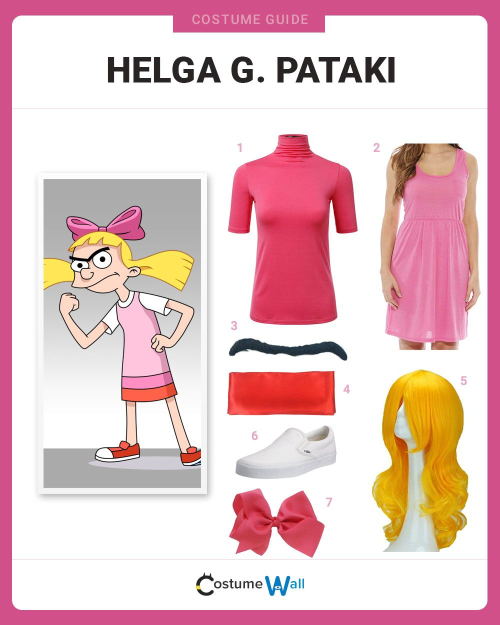 dress like helga g. pataki | costume and cosplay guide | pinterest