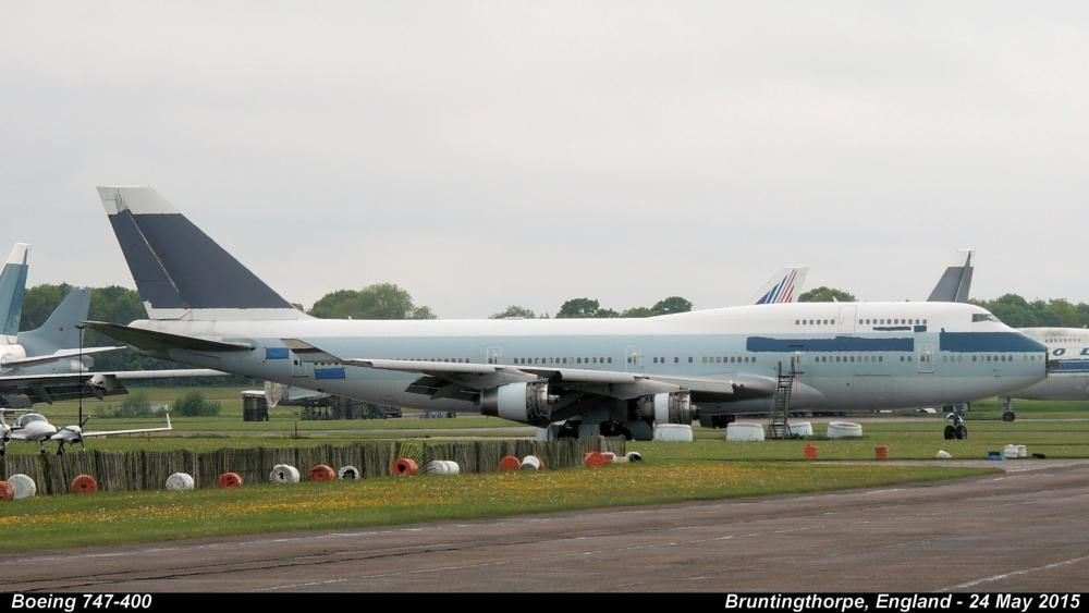 Boeing 747-400  by Graham.Wood.Collection