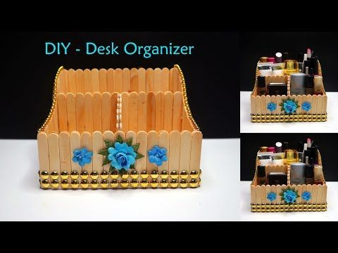 Pin Di Crafts With Popsicle Sticks