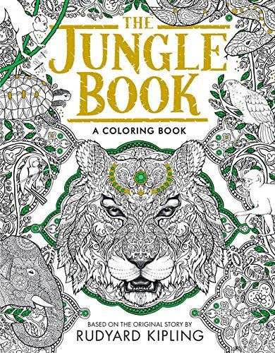 Silver Dolphin Books Jungle Book Coloring Page Downloadable