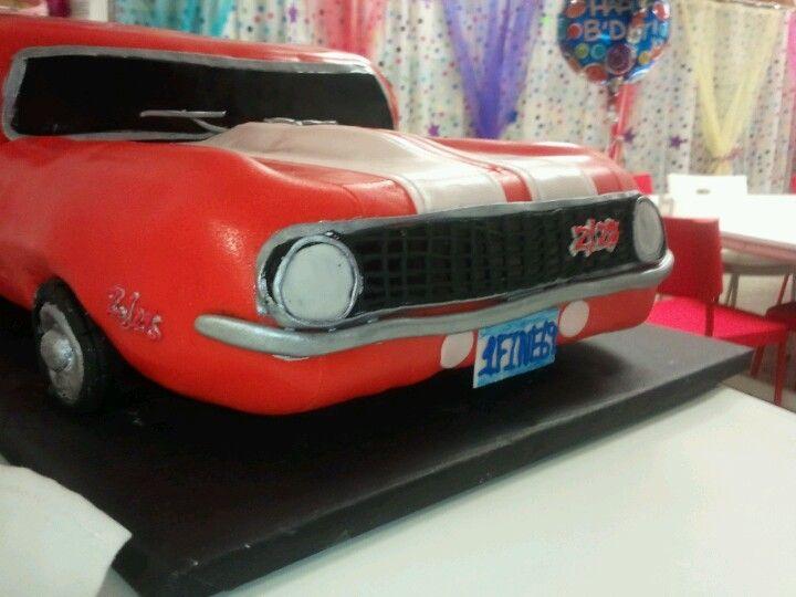 1969 Camaro Cake