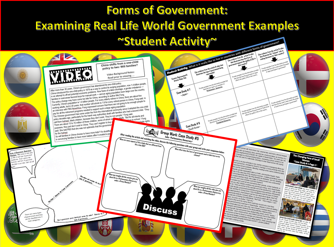 Government Forms Of Government In The Real World Student
