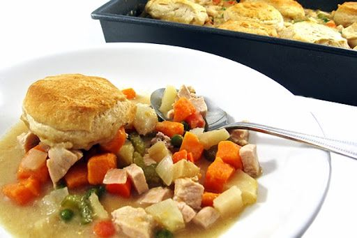 Guilt Free Turkey Pot Pie With Reduced Sodium Chicken
