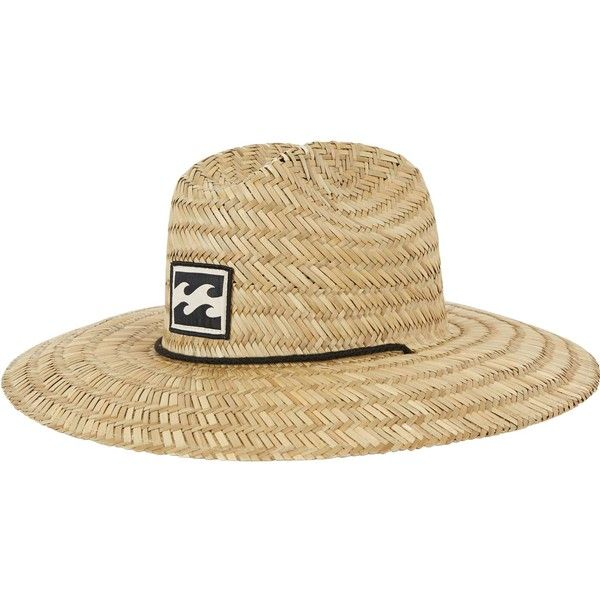 348966283fed4 Tides Straw Hat (71 BRL) ❤ liked on Polyvore featuring men s fashion