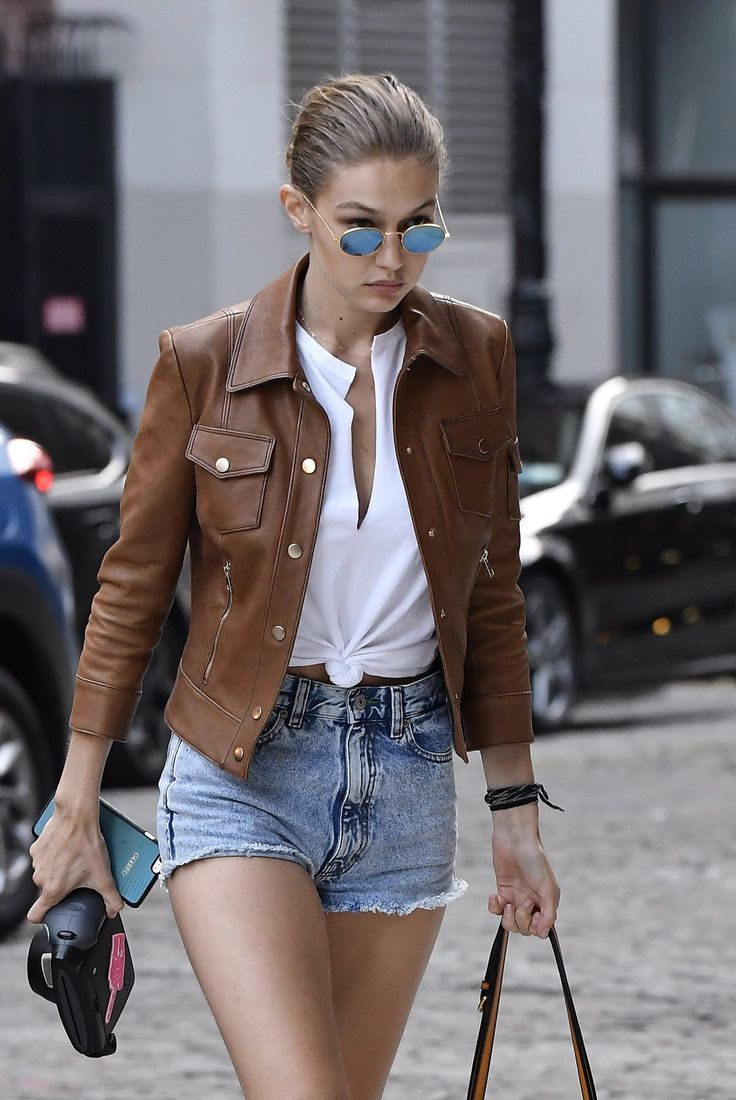 Gigi Hadid...I like her style, not just this outfit but a lot of her outfits she wears