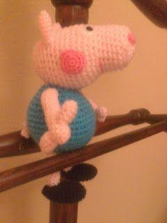 Peppa Pig - free crochet pattern | Crochet pig, Crochet patterns ... | 320x240