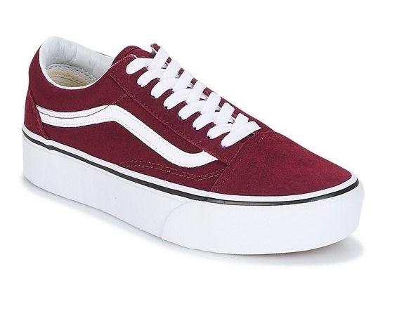 premium selection a264c 44626 Tênis Vans OLD SKOOL – Feminino – Vinho   Tiffany en 2019   Pinterest    Vans shoes, Vans old skool y Sneakers