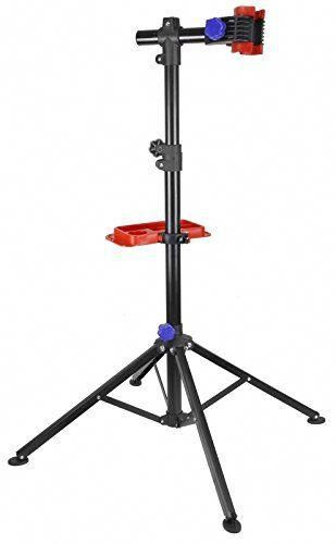 Bike Bicycle Repair Work Stand Rack With Tool Tray Cyclin