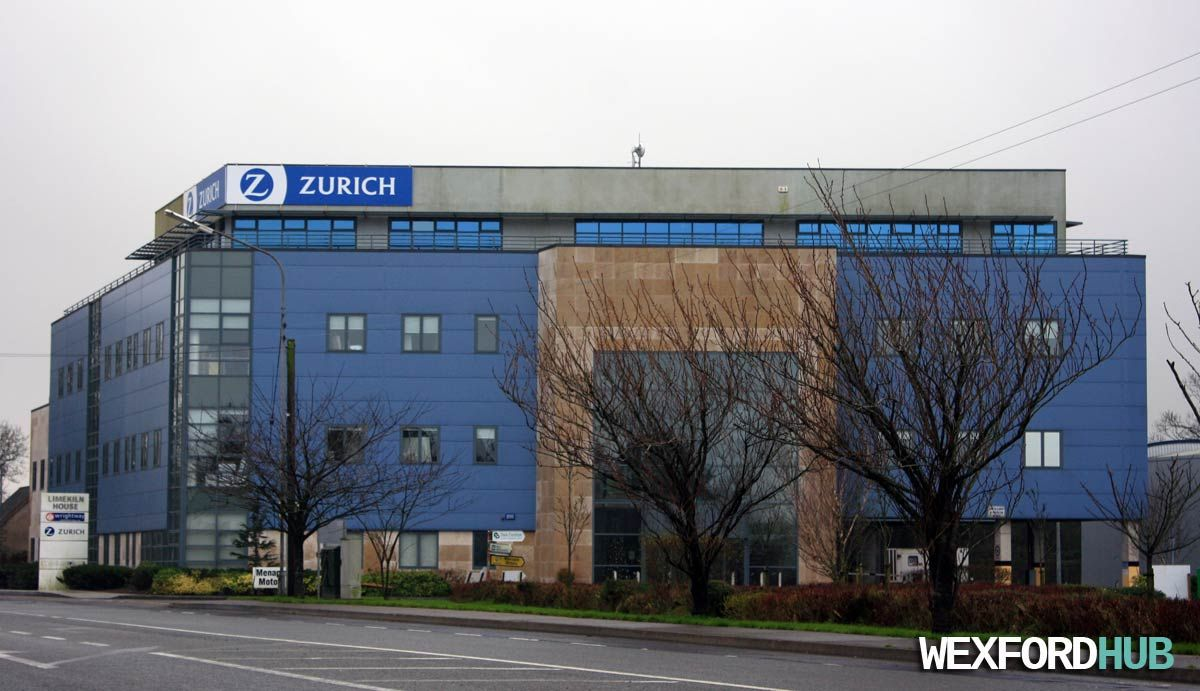 The Zurich Insurances Office Building In Drinagh In Wexford Town