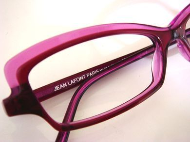 7d320485251 Lafont Karima Eyeglass in Pink and Magenta