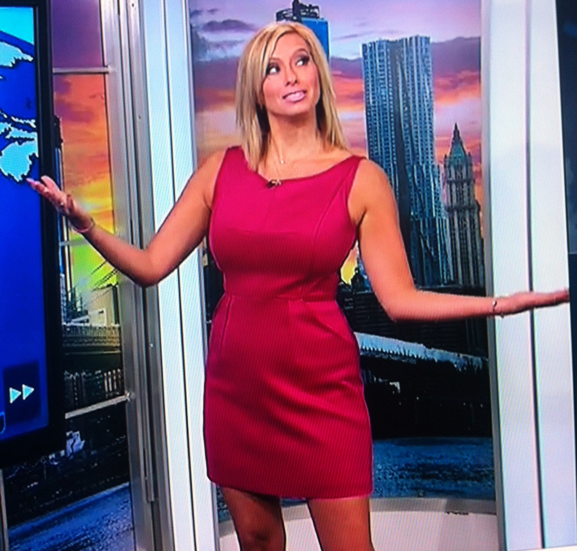 twc the weather channel girls legs