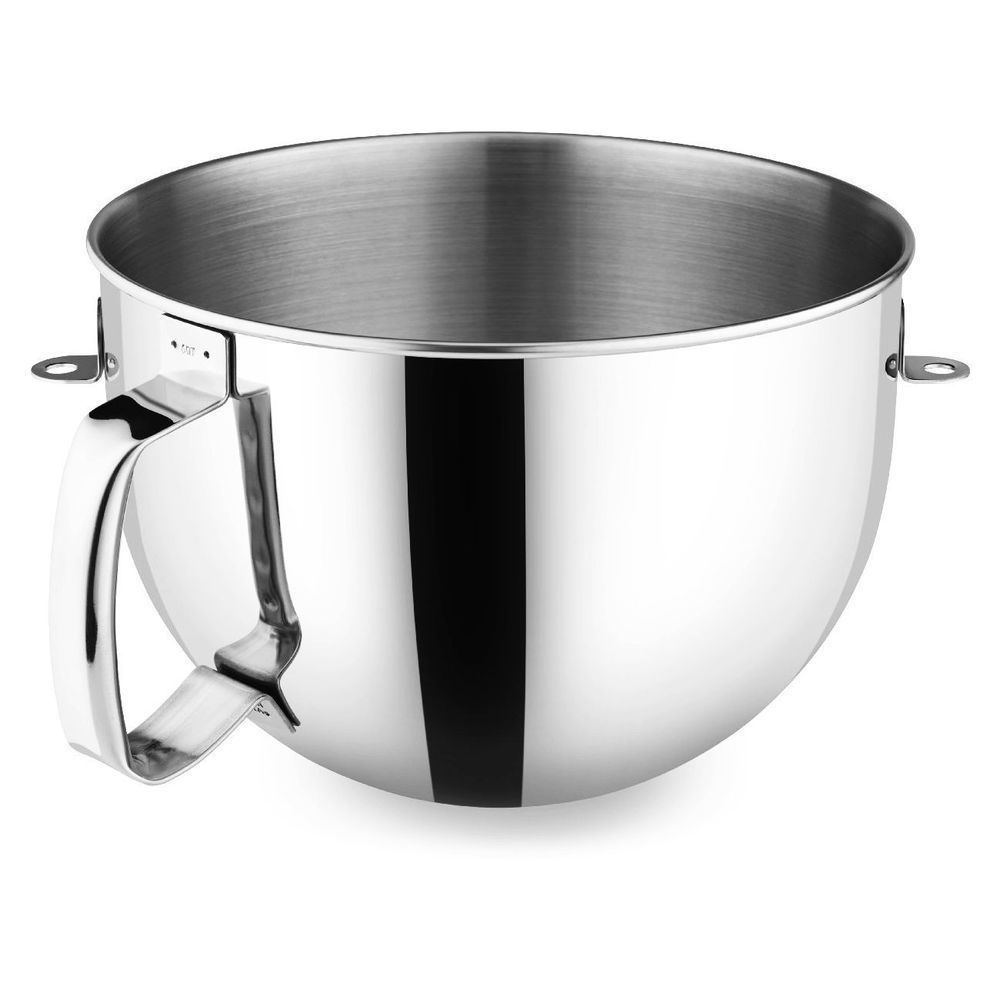 Kitchenaid 6 qt polished stainless steel bowl w comfort
