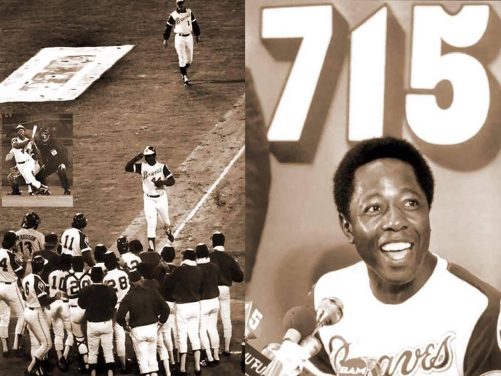 Number 715. Hank aaron, World of sports, Baseball