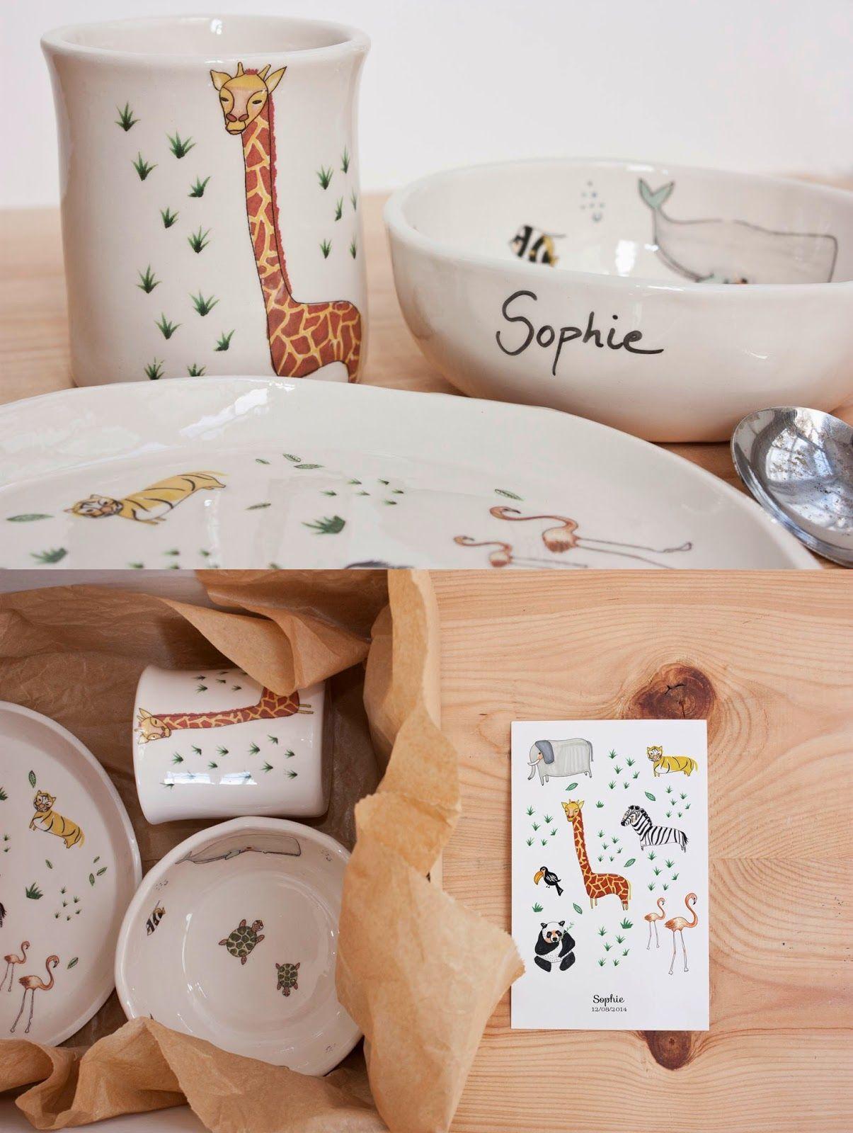 Vajilla Infantil Childrens Tableware Porcellana