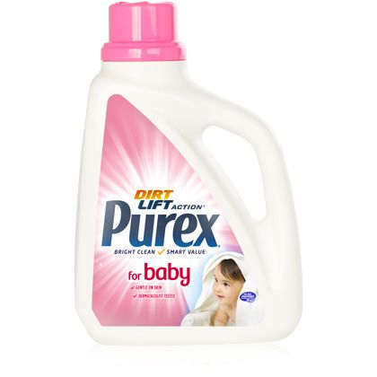 Looking For A Gentle Hypoallergenic Dye Free Dermatologist Tested Baby Detergent For The Smart Value Try Purex Bab Purex Baby Purex Baby Laundry Detergent