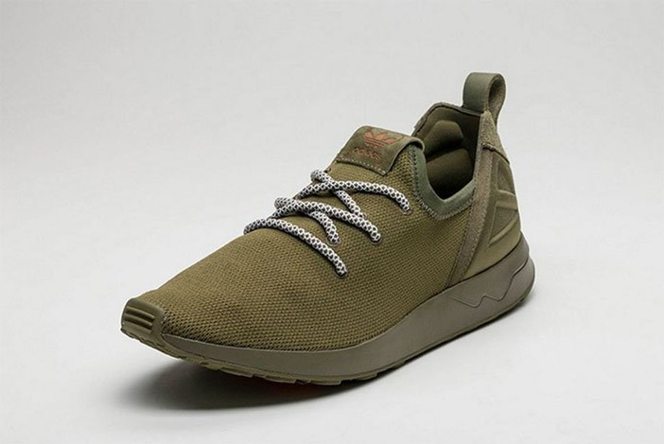"quality design 2d7fa 07616 YEEZY Boost 350 Inspired ZX Flux ADV In ""Olive Cargo"""