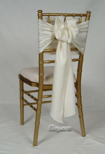 Chiavari Chair Sash Bow Wedding Pinterest Chiavari chairs