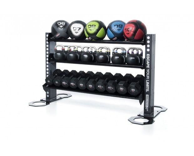 Storage Solutions U203a Gym Equipment Accessory Storage Racks.