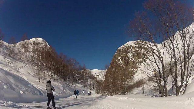 quelques images de ma semaine de ski