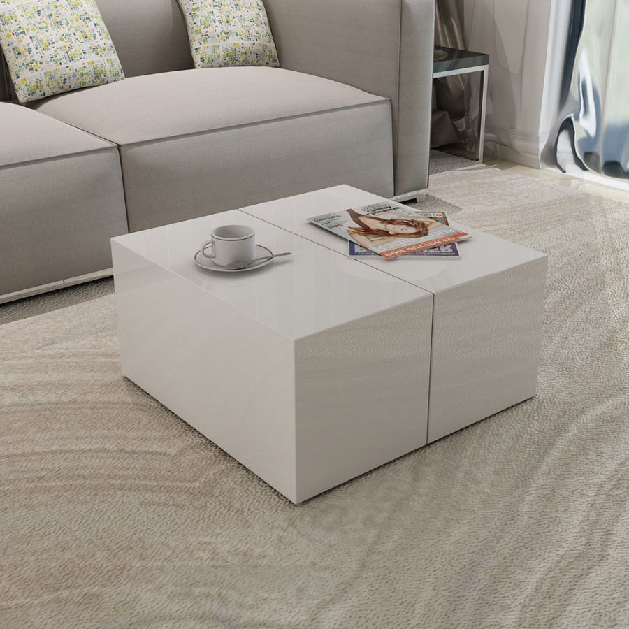 High Gloss White Coffee Table Modern Style Living Room Furniture Storage Unit Coffee Table Modern Style Living Room Furniture Coffee Table White [ 900 x 900 Pixel ]