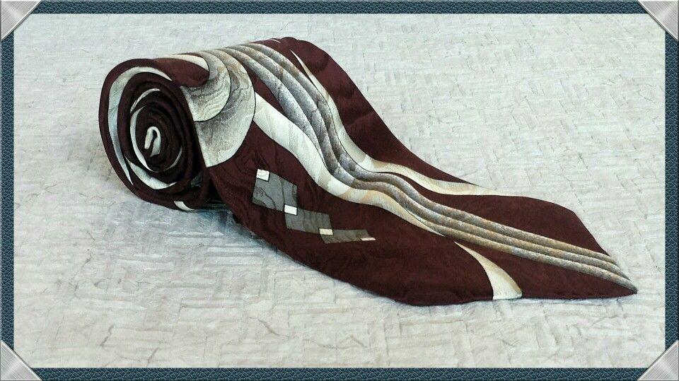 Gianfranco ruffin italy neck tie geometric imported silk