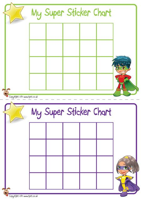 TeacherS Pet  Superhero Sticker Charts  Free Classroom Display
