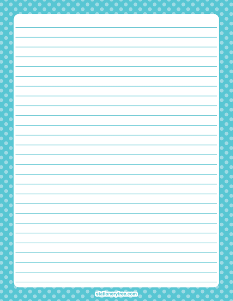 Writing stationery paper